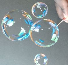How To Paint Hyper Realistic Bubbles Acrylic Painting