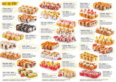 Menu Design, Food Inspiration, New Recipes, Sausage, Rolls, Food And Drink, Sushi Recipes, Colombia, Kitchens