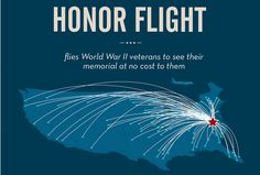 #HonorFlight flies veterans to see their memorial at no cost to them.