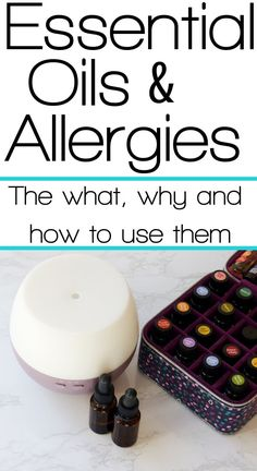The Complete Guide to Using Essential Oils for Seasonal Allergy Relief Learn the what, why and how behind using essential oils for allergies. We get major seasonal allergy relief every year using essential oils and I'm here to teach you how! Essential Oils Allergies, Essential Oils For Asthma, Essential Oil Uses, Essential Oil Diffuser, Doterra For Allergies, Wild Orange Essential Oil, Aromatherapy Diffuser, Natural Asthma Remedies, Herbal Remedies