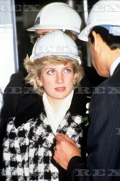 March 18 1987 Princess Diana at Tolarum Polymers Ltd