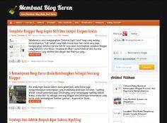 Membuat Blog Keren dan tutorial blogging
