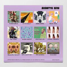 2015 Society6 Artist Calendar
