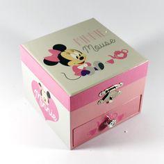 Disney / Caixas de musica / Guarda Jóias - Caixa de música Minnie Mouse – Bau da Cravus