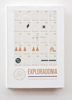 Exploradonia by Jon Wong, via Behance
