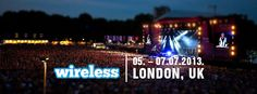 Wireless Festival, 05. - 07.07.2013, London, England - Audiotrip.me
