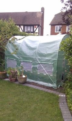 KMS FoxHunter x x Polytunnel Greenhouse Pollytunnel Poly Polly Tunnel Fully Galvanised Anti Rust Steel Frame Garden Sheds, Fruit Garden, Allotment, Greenhouses, Steel Frame, Rust, Diy And Crafts, Gardens, Amazon