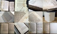 Paper Conservation and Bookbinding with Parchment Old Books, Bookbinding, Conservation, Paper, Antique Books, Conservation Movement, Canning