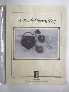 A Beaded Berry Bag Cross Stitch Pattern Chart by Patrick's Woods Book 11    eBay