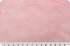 Monkey Shag Fur Baby Pink