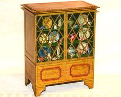 Huntley & Palmers China Cabinet Biscuit Tin 1911