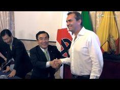 [Video] Gemellaggio Napoli-Kagoshima: incontro dei Sindaci