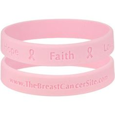 GREATERGOOD Hope Faith Love Silicone Bracelet ($1) ❤ liked on Polyvore featuring jewelry, bracelets and silicone jewelry