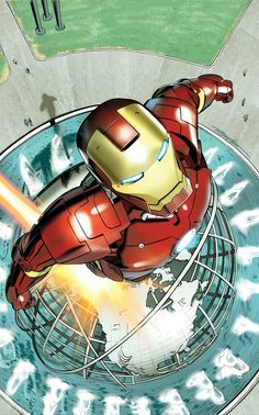 Marvel Unveils Beautiful NYC-Themed ... Iron Man by by Mike Mayhew