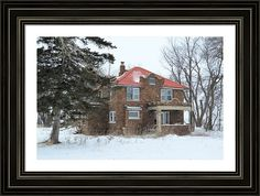 Ulmus House Framed Print By Bonfire #Photography