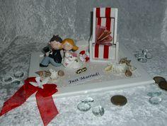 Geldgeschenke - Geldgeschenk Gutschein Hochzeit Brautpaar - ein Designerstück von Magic-4-You bei DaWanda