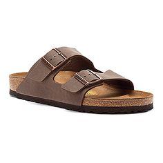 Birkenstock Arizona Mocha https://www.birkenstockusa.com/products/women/sandals/arizona/mocha-birkibuc/15118 Size 6.5