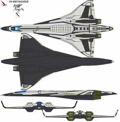 Awesome shuttle. Look at those wings! And that tapered hull!