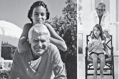 Cary Grant & daughter Jennifer