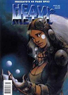 Heavy Metal Magazine - Vol. Heavy Metal Movie, Metal Fan, Heavy Metal Rock, Fantasy Comics, Fantasy Art, Pinup, Cyberpunk, Pop Art, Fantasy Book Covers