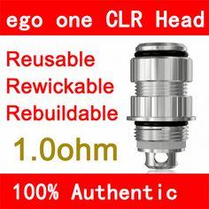 Authentic Joyetech EGO ONE CLR Head 1.0ohm 5pcs/Atomizer Coil Unit In stock Authentic Joyetech EGO ONE CLR Head 1.0ohm in stock. It's the price for 5pcs(1pack).       We guarantee it's original, otherwise full money back without returning of goods!   Be c  #Vaporizer http://www.vaporgasme.com/produk/authentic-joyetech-ego-one-clr-head-1-0ohm-5pcs-atomizer-coil-unit-in-stock/