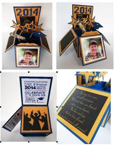 Graduation Box Card