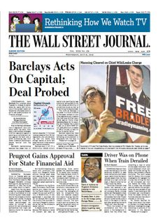 The Wall Street Journal (Europe) July 31 2013