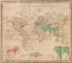 Tanner's Map of the World Cholera Epidemics of 1830-1832.
