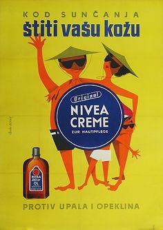 Nivea - cream. Old. Beautiful.