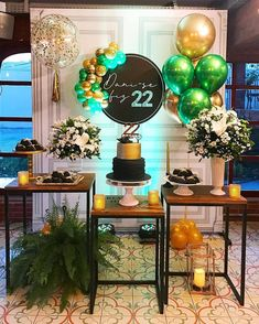 15 Ideas birthday decorations for teens simple Mom Birthday Gift, Birthday Celebration, Birthday Parties, Birthday Party Decorations, Table Decorations, Gold Bridal Showers, Its My Bday, Gold Party, Event Decor