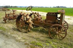 Vintage Tractor by swainboat, via Flickr
