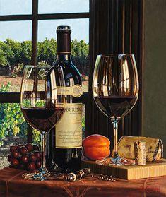Vineyard View by Eric Christensen - Beringer