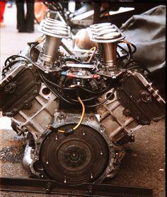 Ford-Cosworth DFV 3.0 V8  1977 Belgian Grand Prix, Circuit Zolder
