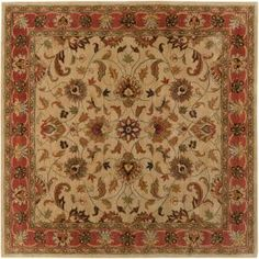 Artistic Weavers John Beige 6 ft. Square Area Rug-JHN-1001 at The Home Depot