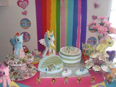Festa temática My Little Pony e o Arco Íris