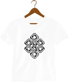 Endless Knot : Nrs. 500 only.    A simple knot that symbolizes Samsara, the endless cycle of birth, death and rebirth.    http://neptees.com