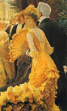 'The Ball'  by-James Tissot..  c- 1840