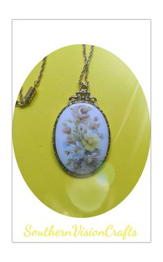 Check out this item in my Etsy shop https://www.etsy.com/listing/267112004/necklace-flower-cameo-jewelry