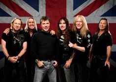 """NEWS: The rock band, Iron Maiden, have announced a North American tour, called the """"Book Of Souls World Tour,"""" for spring of next year. They will be supporting their new album, Book Of Souls. The Raven Age will be supporting the tour. Details at http://digtb.us/1NRGalx"""