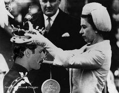 Queen Elizabeth crowning Freddie