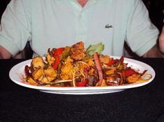 7.- Federación Costa del Sol Hotel & Spa: Restaurante - la cena con platos abundantes