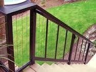 The Fortress Vertical Cable Railing System Is Easy To