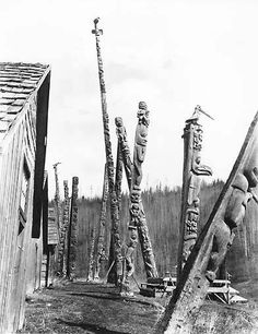 Native Art, Native American Art, Edward Curtis, Haida Art, Totem Poles, Canadian Art, Indigenous Art, Totems, First Nations