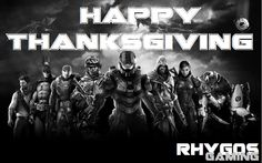Happy #Thanksgiving to all my mates over the big pond! Have a blast and game on! ~Rhy
