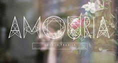 Typography  Amouria Jewelry
