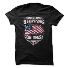 Try Stepping on THIS Flag - #tshirt designs #sleeveless hoodies. I WANT THIS => https://www.sunfrog.com/Political/Try-Stepping-on-THIS-Flag-61105234-Guys.html?id=60505