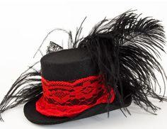 Праздничная шляпка-заколка / Необычная шляпка-заколка для волос - для праздника, для корпоратива или костюмированного бала!