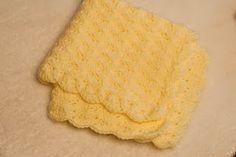 yellow mini blanket