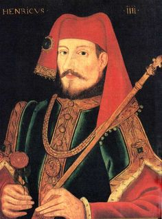 Henry IV [known as Henry Bolingbroke] (1366–1413), king of England and lord of Ireland, and duke of Aquitaine. My ancestor.