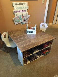 Kids Playroom Table And Chairs kids table and chairs | do it yourself home projects from ana